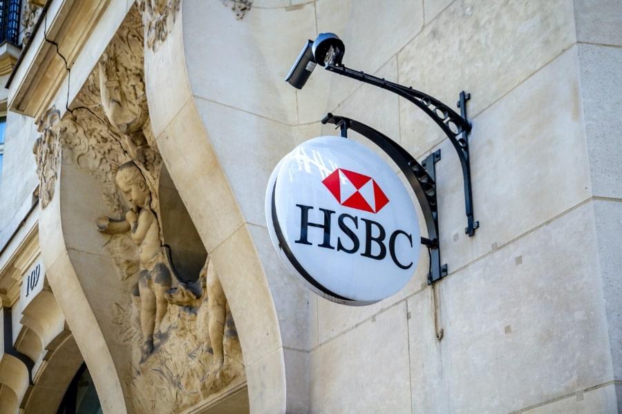 © Enseigne HSBC en France