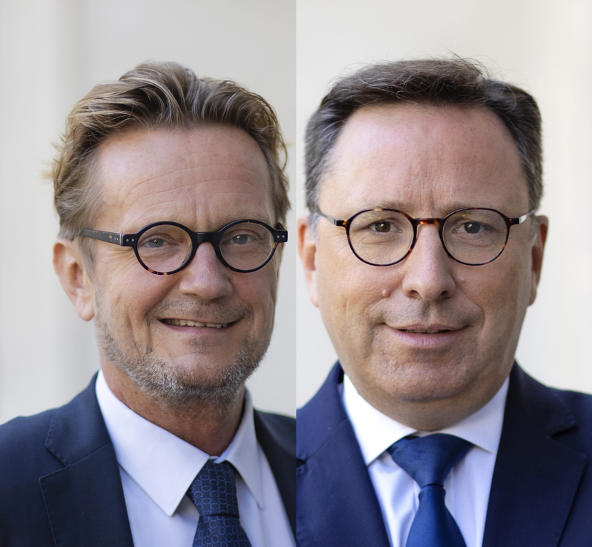Antoine Roué-Lecuyer et Jean-Noël Combasson, Natixis Partners