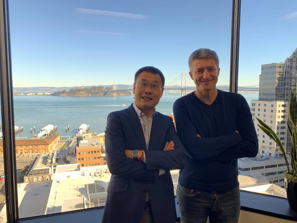 Ming-Po Cai et Denis Barrier, Cathay Capital