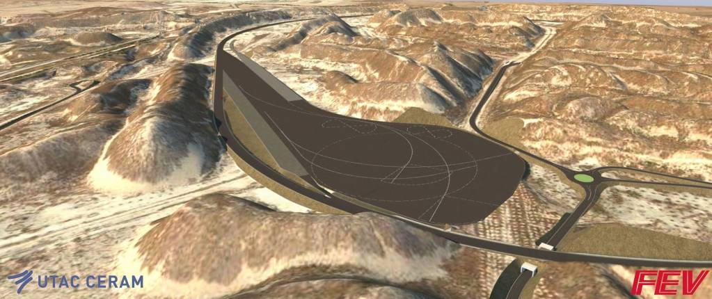 Le français Utac Ceram et l'allemand Fev Group s'associent pour lancer un centre d'essais automobiles au Maroc, à 150kilomètres de Casablanca, qui devrait ouvrir en 2021. - ©Utac Ceram/Fev Group