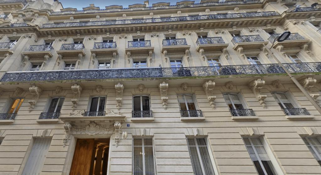 Les bureaux du groupe Magellim, dans le 17e arrondissement de Paris. © Maps