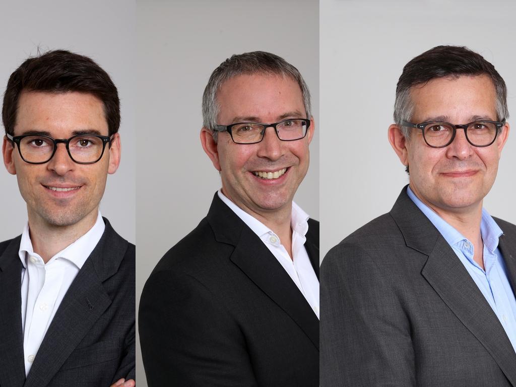 Florian Pascaud, Benjamin Lobel et Frédéric Balochard, Coruscans