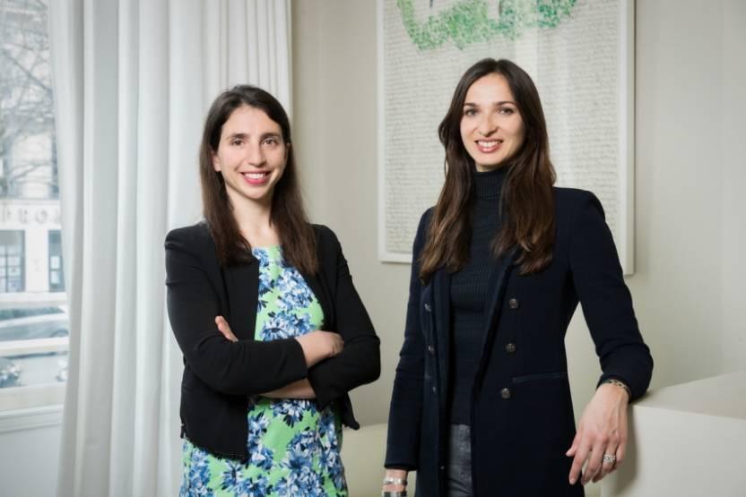 Alice Albizatti et Elina Berrebi,©Revaia