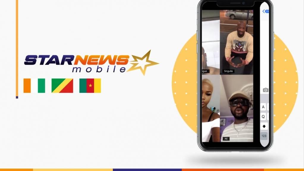 Ayant lancé ses activités en Côte d'Ivoire en 2017, StarNews Mobile est une plateforme panafricaine de distribution de contenu vidéo basée à Los Angeles. - ©StarNews Mobile