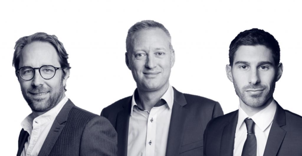 Frédéric Fiore, HervéLetoublon et Laurent Mottet, co-fondateurs de Jadel ©Jadel