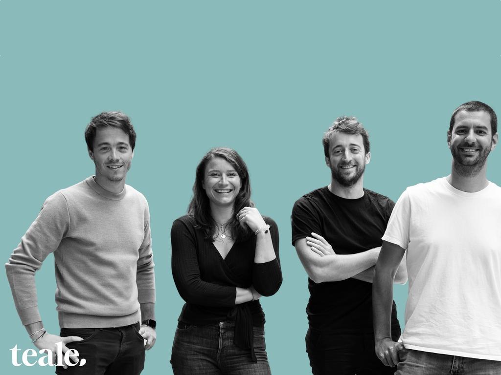 Geoffroy Verzat, Julia Néel Biz, Nicolas Merlaud et Gilles Rasigade, Teale © Teale