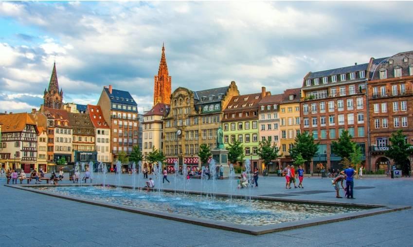 ©Place Kléber à Strasbourg -Alexi Tauzin