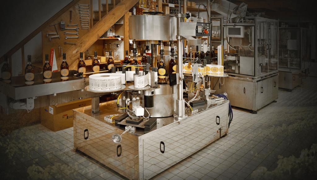 Mise en bouteilles vignes © Maison Brillet