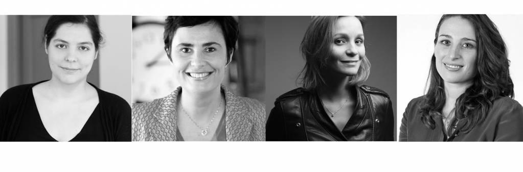 Marie Brayer, Stéphanie Hospital, Samantha Jerusalmy et Audrey Soussan, France Digitale