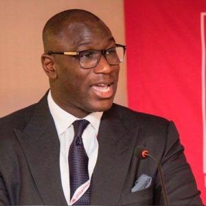 Hubert Danso, président du Forum des dirigeants africains sur la richesse souveraine et les fonds de pension.