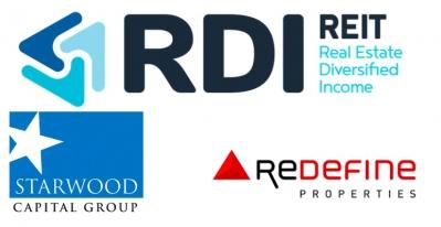 RDI REIT, Starwood Capital Group et Redefine Properties