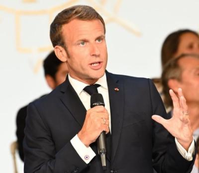 Emmanuel Macron, président de la République
