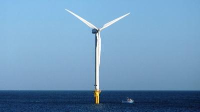 Éolien sur mer