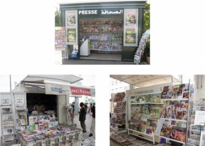 Kiosques de Sochepress - sochepress.ma
