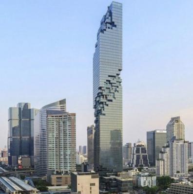 Mahanakhon Tower à Bangkok réalisé par Archetype