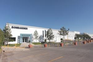 Bombardier site Queretaro - Mexique