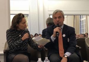Agathe Zilber (CFNEWS) et Dominique Gaillard (Ardian / France Invest)