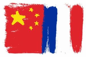 Drapeaux France Chine