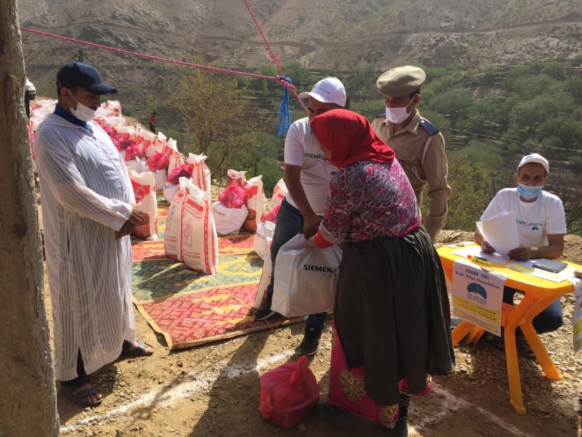 Siemens Gamesa fait don de fournitures vitales aux populations maghrébines, sud-africaines, kényanes et jordaniennes. - © Siemens Gamesa
