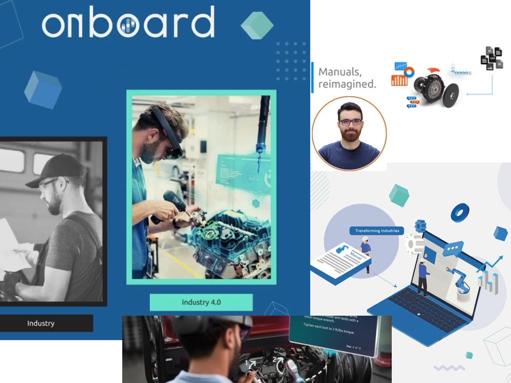 Grâce à sa solution logicielle basée sur l'intelligence artificielle,Onboard Manuals aide les entreprises industrielles à créer des manuels faciles à comprendre. - ©Onboard Manuals