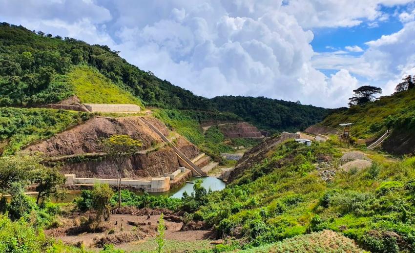 Le projet de centrale hydroélectrique sur la rivière Mpanda au Burundi.