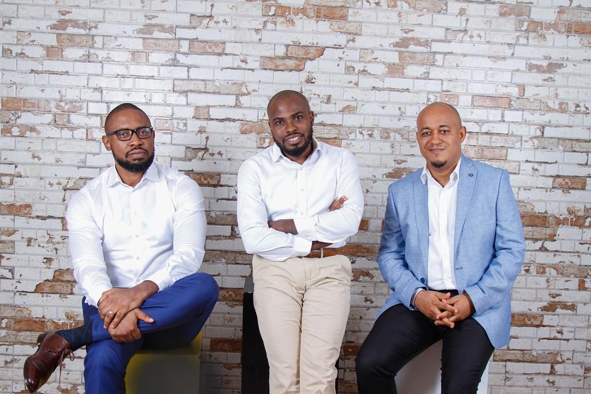 Les fondateurs de TradeDepot, Onyekachi Izukanne, Michael Ukpong et Ruke Awaritefe. -  ©TradeDepot