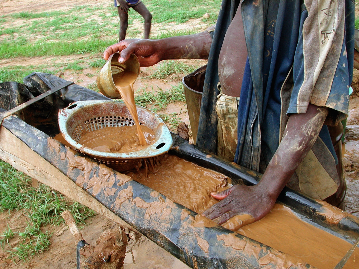 Mine d'or de Koupéla au Burkina Faso.