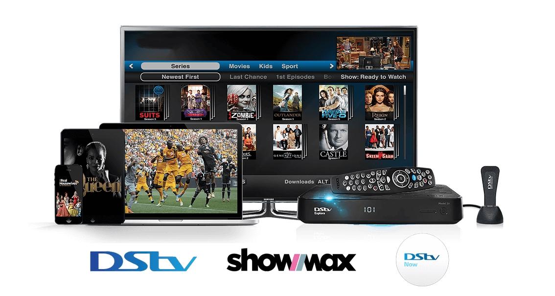 Plateformes de divertissement DStv, GOtv, Showmax and DStv Now de l'opérateur sud-africain MultiChoice, leader de la «pay TV» en Afrique. -©MultiChoice