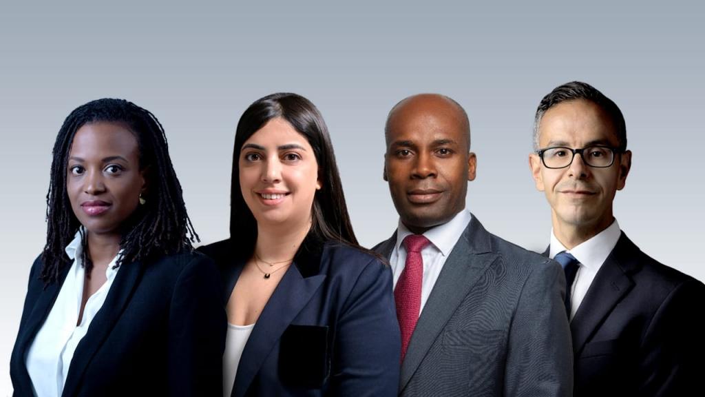 Salimatou Diallo, Safia Fassi-Fihri, Sydney Domoraud et Foued Bourabiat, ADNA