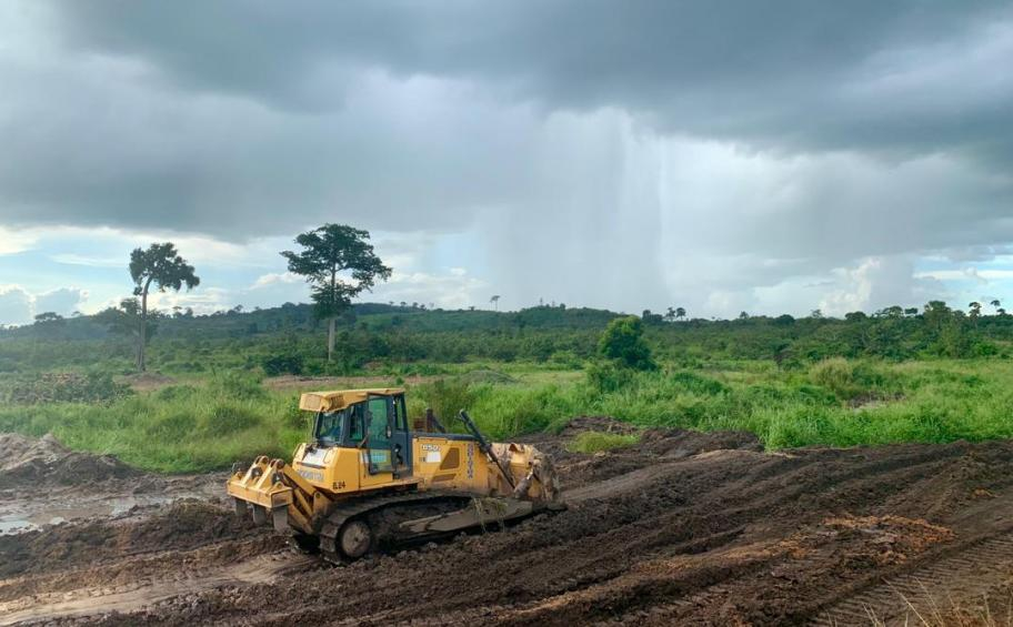 Le groupe français Eiffage a remporté en octobre 2018 l'appel d'offres pour la construction du barrage hydroélectrique de Singrobo en Côte d'Ivoire, dans le cadre d'un contrat de 110 M€. -© Eiffage