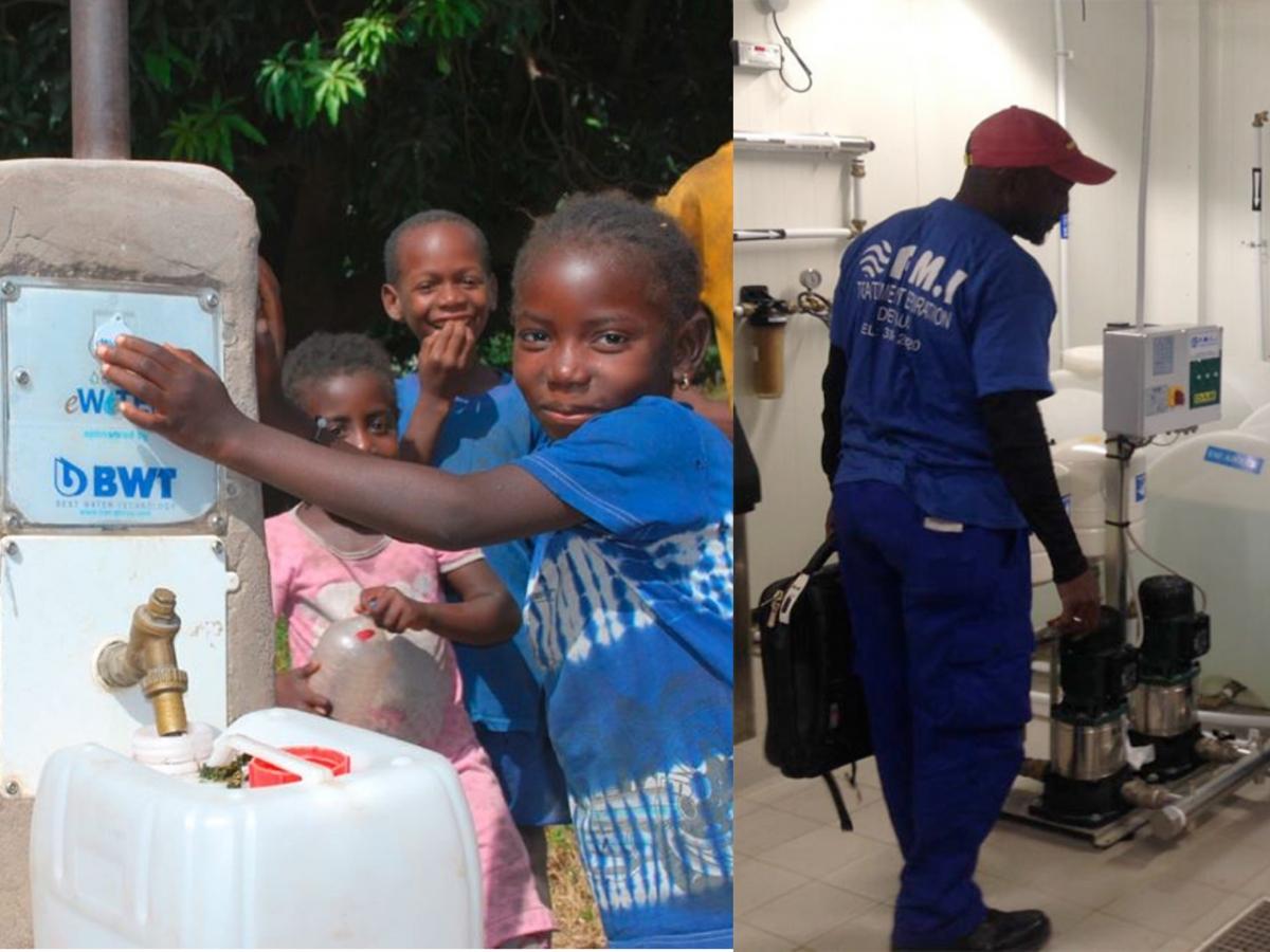 L'autrichien Best Water Technology, via sa filiale BTW France, met la main sur son partenaire local au Sénégal depuis vingt-cinq ans. - ©BWT/PMI Sénégal