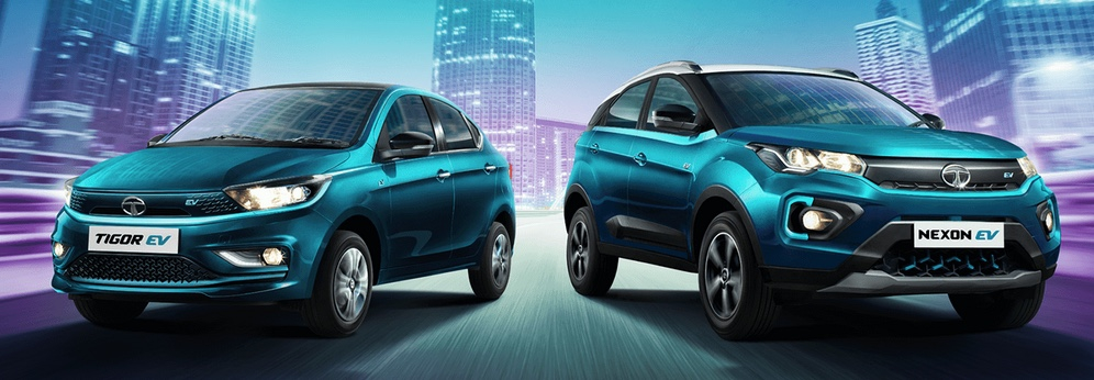 Tigor et Nexon © Tata Motors