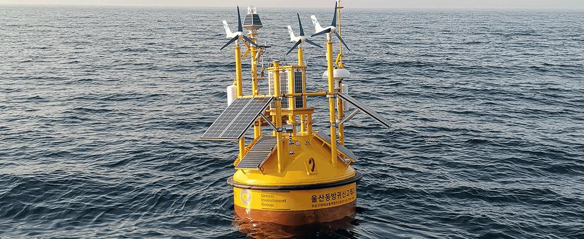 éoliens offshore flottants en Corée du Sud Total