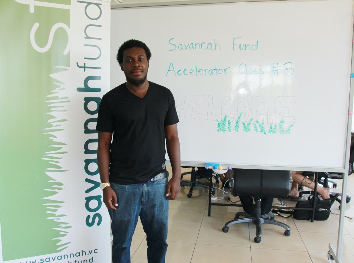 Prince Boakye Boampong, fondateur du site ghanéen de musique BiGxGh, lauréat du troisième programme d'accélération de Savannah Fund. - ©Savannah Fund/LydiaChen