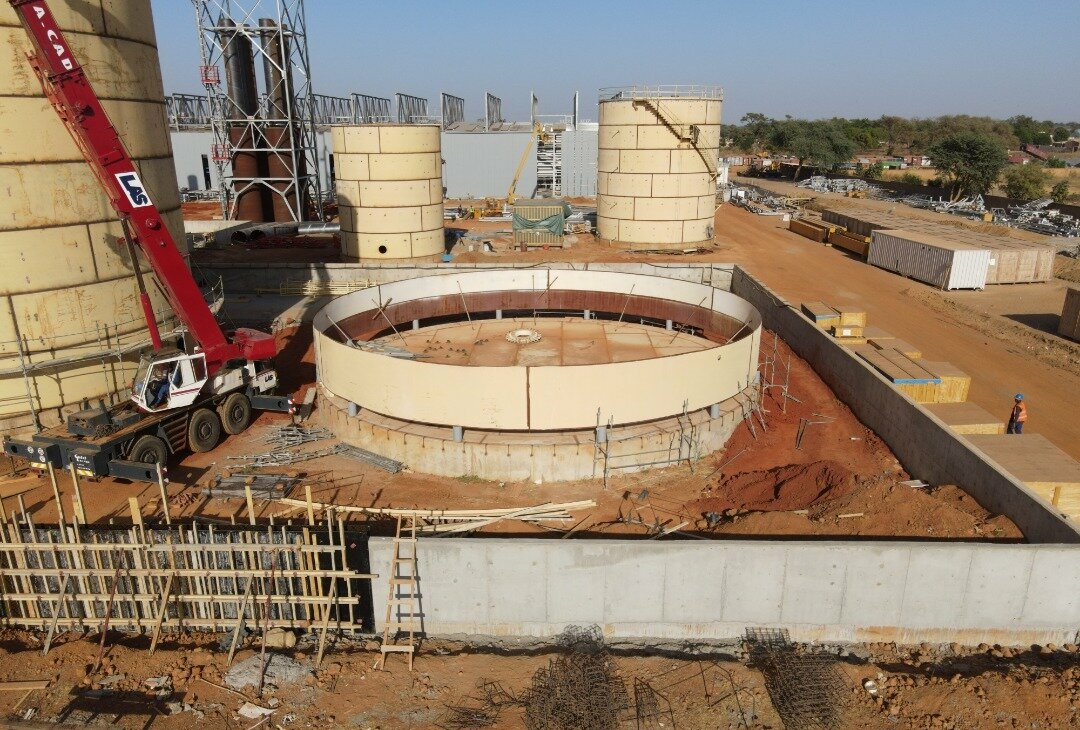 Vue aérienne du site du projet Malicounda au Sénégal. - © Africa50