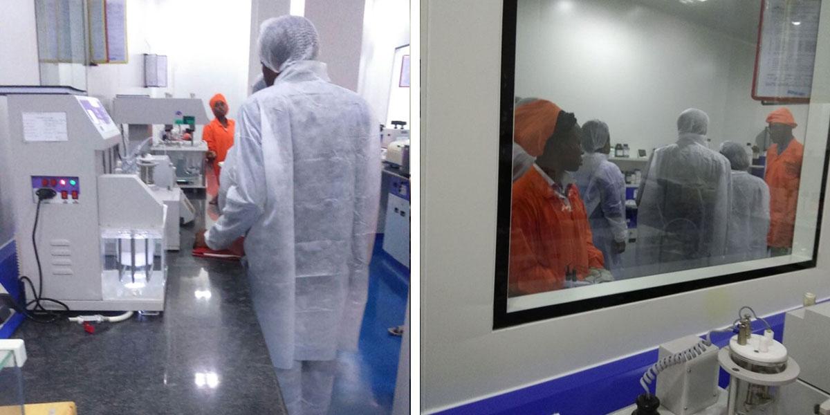 Africure Pharmaceuticals a ouvert en février 2018 sa première usine de fabrication de médicaments génériques au Cameroun.
