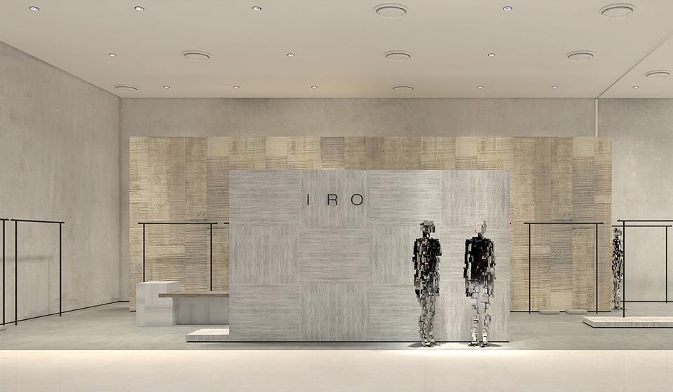 Boutique IRO en Chine