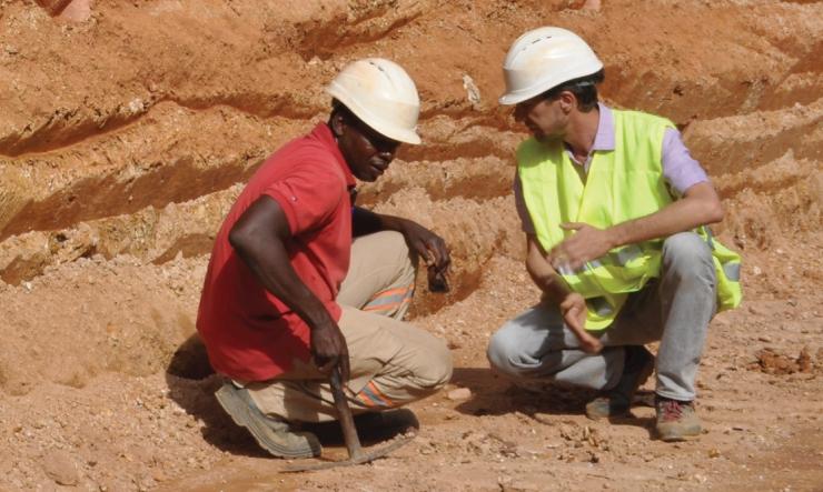 Projet d'exploration Mana, devenue la mine phare au cœur de l'histoire de la compagnie québécoise Semafo et la troisième plus grande mine d'or au Burkina Faso. -