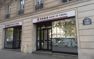 Bank of China Paris branch